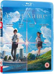 Your Name Blu-ray NOW £7.99 (Prime) £10.98 (Non Prime) at Amazon