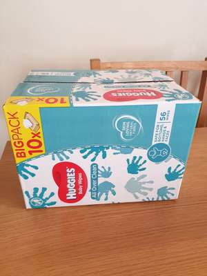 Huggies baby wipes 10 pack only £3.25 @ Asda in-store only