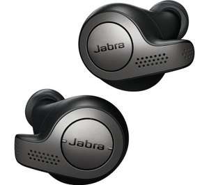 b11adf86161 JABRA Elite 65t Wireless Bluetooth Headphones - Titanium Black £125 @ Currys