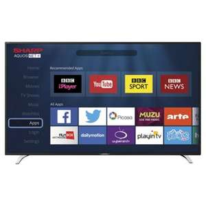 "Sharp LC-40CFE6241K 40"" Full HD Smart D-LED TV and unique sound system by Harman/Kardon® £199 instore Tesco (Clubcard required)"