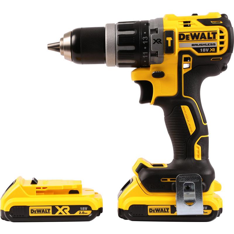 DeWalt DCD796 18V XR Li-Ion Cordless Brushless Combi Drill 2 x 2.0Ah £149.99 @ Toolstation