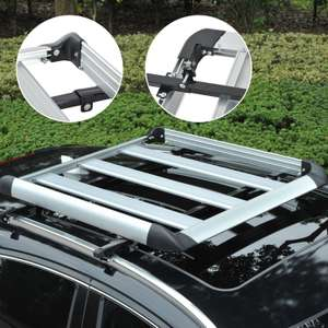 Outsunny Roof Tray Platform Rack Luggage Box Carrier Universal Fit Transit @ Ebay Sold By Outsunny £27.19 Delivered
