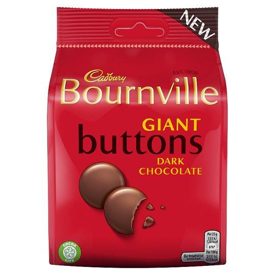 Cadbury Bournville Giant Buttons 110g - 90p @ Tesco