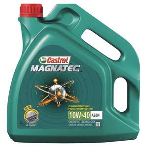 Castrol Magnatec 10w40 4L - in store Tesco total bargain for