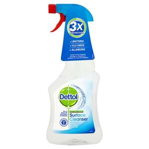 Dettol Surface Cleanser Antibacterial Spray 500ML was £1.75 now £1 @ Tesco