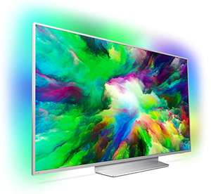 Philips 49PUS7803/12 49'' 4K Ultra HD TV with HDR Plus & 3 Sided Ambilight - Light Silver £514 / 55'' £603 / 65'' £899 / 75'' £1499 @ Amazon