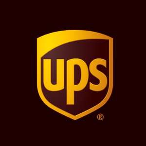 UPS Parcel Up To 20kg via Drop Off £6 including VAT at UPS today