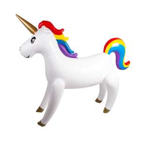 Giant 155cm Inflatable Freestanding Unicorn £10 / Inflatable Giant Pegasus 130cm Pool Ride On £10 C+C at The Entertainer