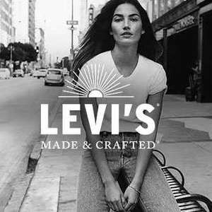 20% OFF JEANS @ LEVIS FOR 501 DAY
