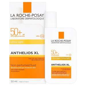 La Roche-Posay Anthelios Ultra Light Fluid SPF 50+ only £1 @ Boots Carmarthen instore