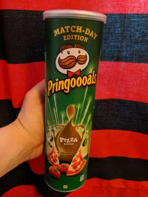 Pringles Pizza Flavour 200g (full size) just £1 @ b&m (found in Bury store)