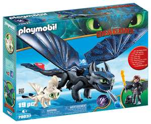 Playmobil Dragons 70037 Hiccup and Toothless with Baby Dragon RRP £39.99 NOW £29.99 delivered at Amazon
