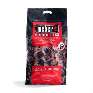 Weber Briquettes 8kg instore - 20% off everything @ Go Outdoors Sheffield - £7.40