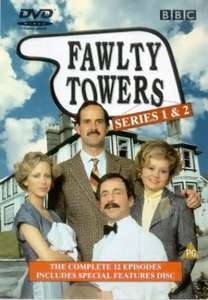 All 12 Episodes of Fawlty Towers (DVD) - £2.39 @ World of Books