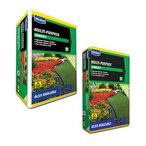 Multi Purpose Compost - 120L for £6 each / 50L Bags £3 each @ Wickes (Free C&C)
