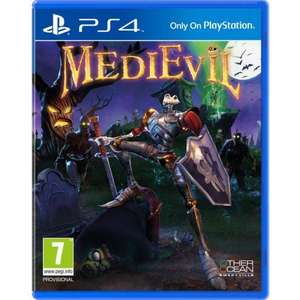 Medievil PS4 (Preorder) £20.95 delivered @ The Game collection