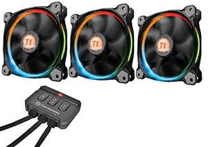 Thermaltake Riing12 Led RGB Fan 256 Colour 120 mm with Switch - £34.92 @ Amazon