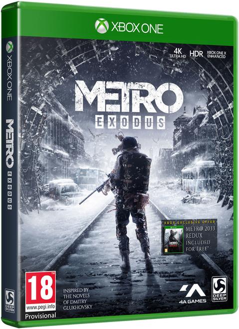 Metro Exodus inc Metro 2033 Redux + Creatures of Metro Exodus poster + Exclusive Patch Set - £29.86 delivered @ ShopTo