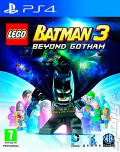 LEGO Batman 3: Beyond Gotham ps4 (pre-owned) £7.10 with code delivered @ Music Magpie