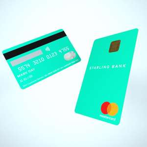 Starling Bank Current Account - Fee free spending abroad inc £300 cash withdrawals a day + up to £10 cashback at Costa (new customers)