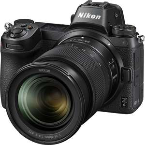 Nikon Z6 FX-Format Mirrorless Camera with NIKKOR Z 24-70mm f/4 S Lens - £1875 @ Grays of Westminster