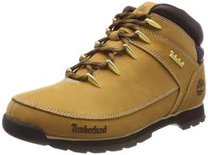 Timberland Men's Euro Sprint Hiker Ankle Boots (Yellow Wheat Nubuck) - Various Sizes £40 @ Amazon
