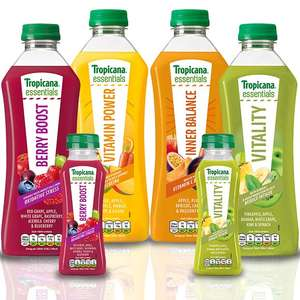 Tropicana Essentials juices only £1.45 at Asda! Better than half price!