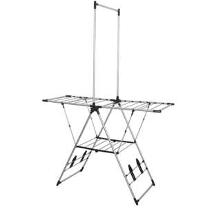 Morgan Stainless Steel Clothes Airer £19.99 @ Homebase free C&C - 1 year warranty