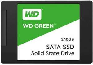 "Western Digital Green PC internal SSD solid state drive 2.5"" 240 GB SATA III for £24.99 Delivered @ 7dayshop"