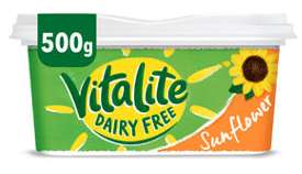 Vitalite Dairy Free Spread(Suitable for Vegans/DAIRY FREE)500gm FOR £1 @ ASDA