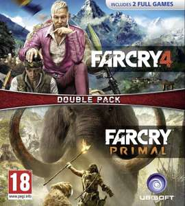 FAR CRY 4 + FAR CRY PRIMAL BUNDLE (£12.99)/ FAR CRY PRIMAL - APEX EDITION (£9.49) PS4 @ PlayStation store