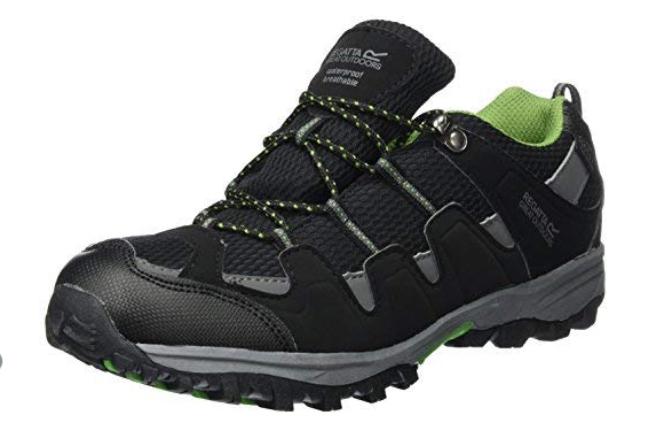 Regatta Boys' Garsdale Jnr Low Rise Hiking Shoes @ Amazon - From £6.30 Prime (+£4.49 non-Prime)