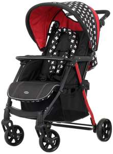 Obaby Hera Stroller - Crossfire  £89.99 @ Argos free Delivery - Manufacturer's 5 year parts and labour guarantee.