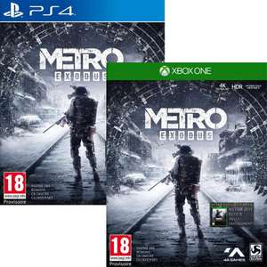 Metro Exodus ( PS4 / XO ) for £27.99 delivered @ Smyths