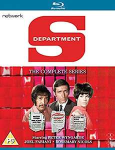 DEPARTMENT S: The Complete Series Blu-Ray 1960s TV Crime Drama Re-Mastered £ (Prime) / £18.98 (non Prime) @ Amazon UK