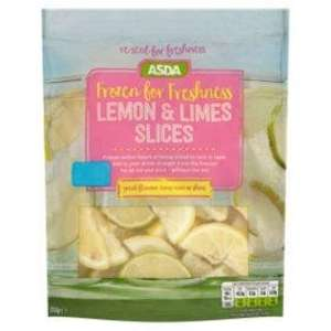 ASDA Frozen for Freshness Lemon & Limes Slices / Summer Cup Mix (ideal for Pimms) now £1.50 @ Asda