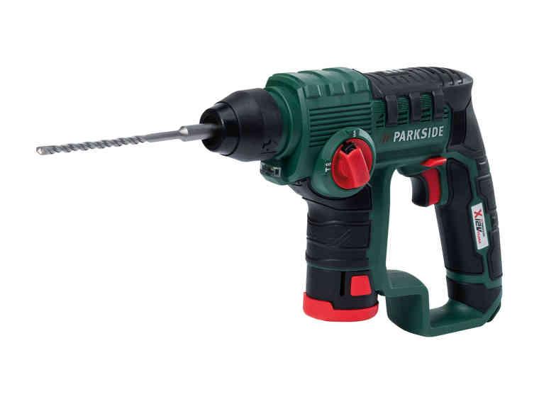 Parkside 12V SDS-Plus Cordless Hammer Drill - £39.99 @ LIDL