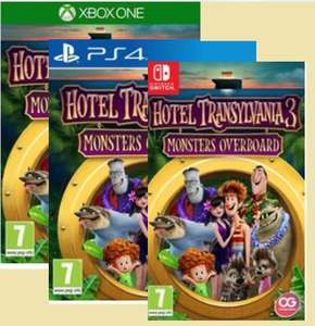Hotel Transylvania 3: Monsters Overboard PS4/Xbox one for £14.99( Nintendo switch £19.99) @ Smyths toys