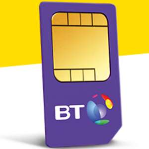 BT Mobile Sim Only Plan - 10GB Extra Speed Plan & Free BT Sport for £10 a month on a 12 month contract (existing customers I think?)