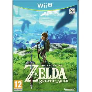 Legend of Zelda: Breath of the Wild Wii U  £29.99 @ Argos (free c+c)