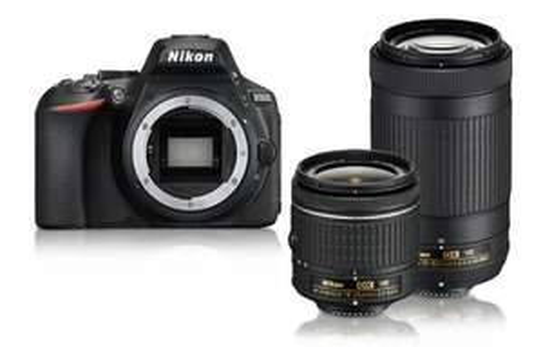 Nikon D5600 DSLR Camera with 18-55 and 70-300 AF-P VR Lenses - £784 @ Nikon Store
