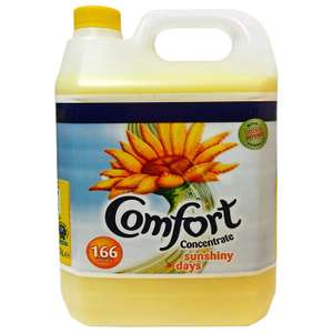 Comfort Sunshiny days Fabric  conditioner 5L £6 (Prime) / £10.49 (non Prime) / 20% off via subscription & save £4.50 @ Amazon
