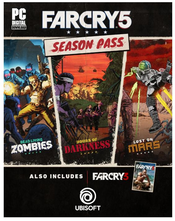 Far Cry 5 - Season Pass [PC Code - Uplay] £13 @ Amazon