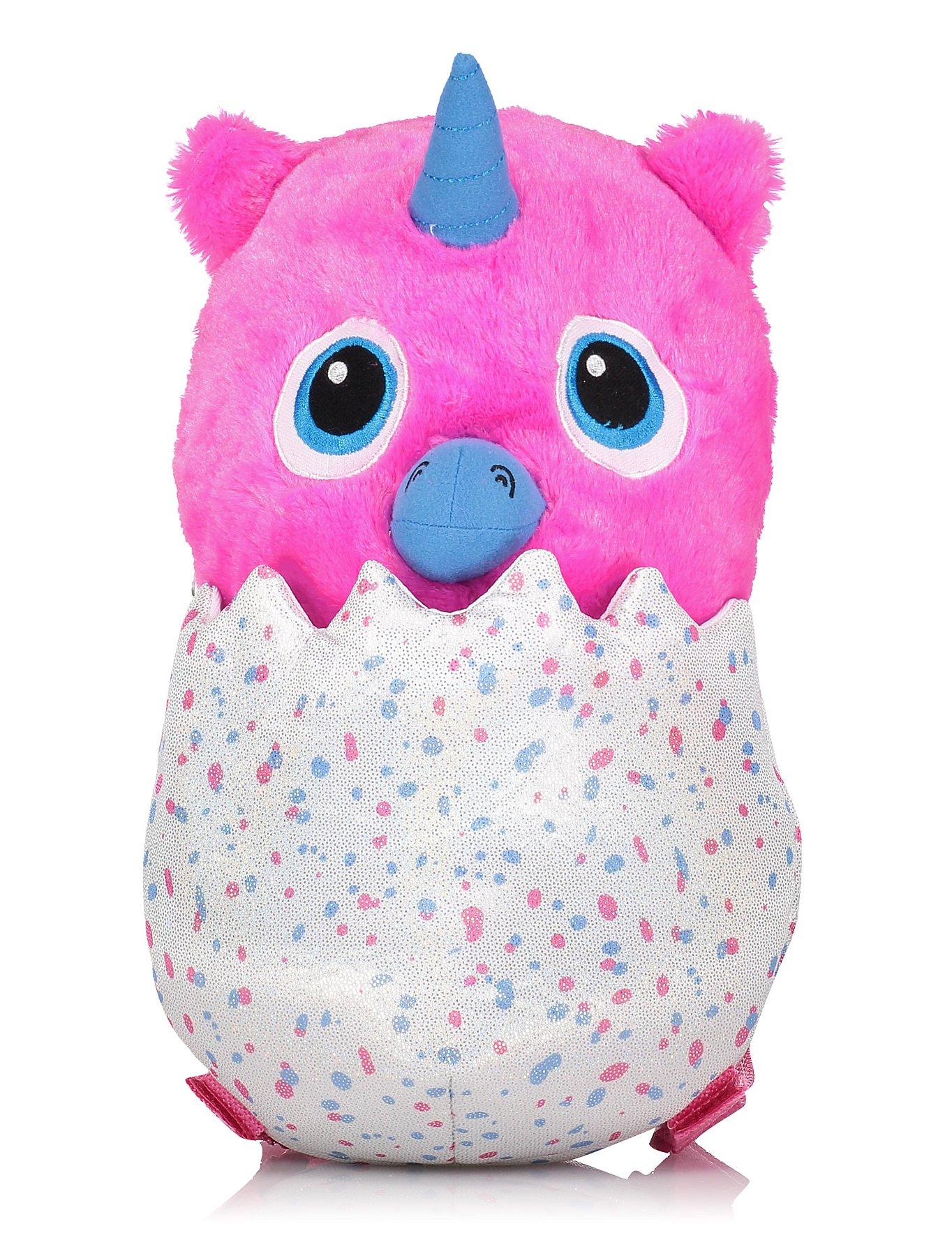 1/2 Price : Hatchimals Owlicorn Pink Plush Backpack Bag, Now £6 @ Asda (Free C&C )