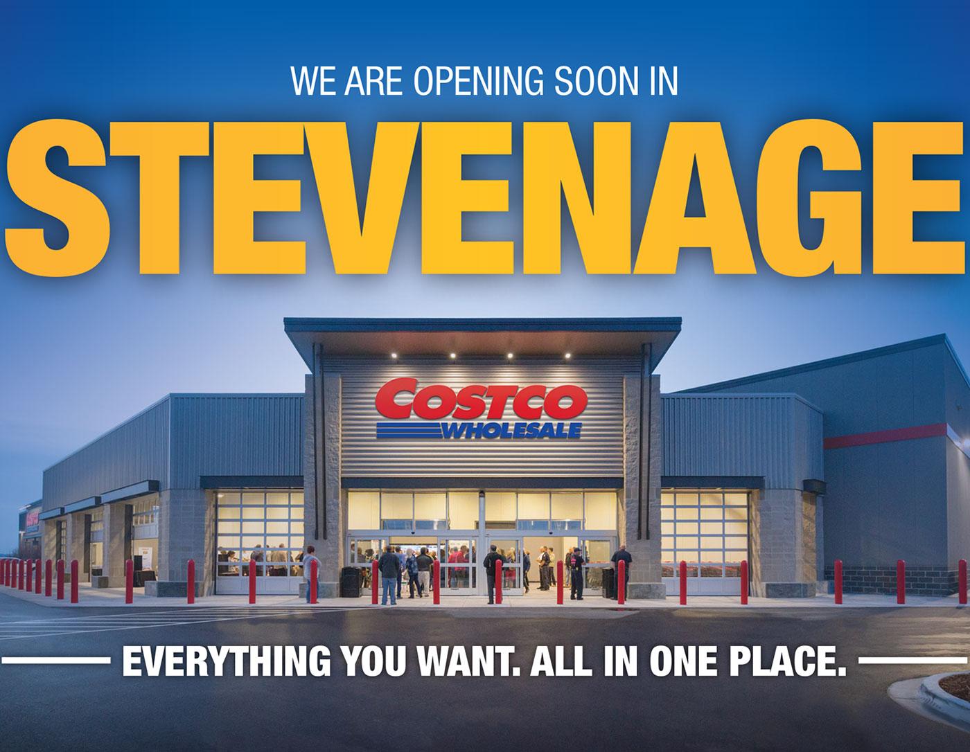 Costco Stevenage New Membership opening offer