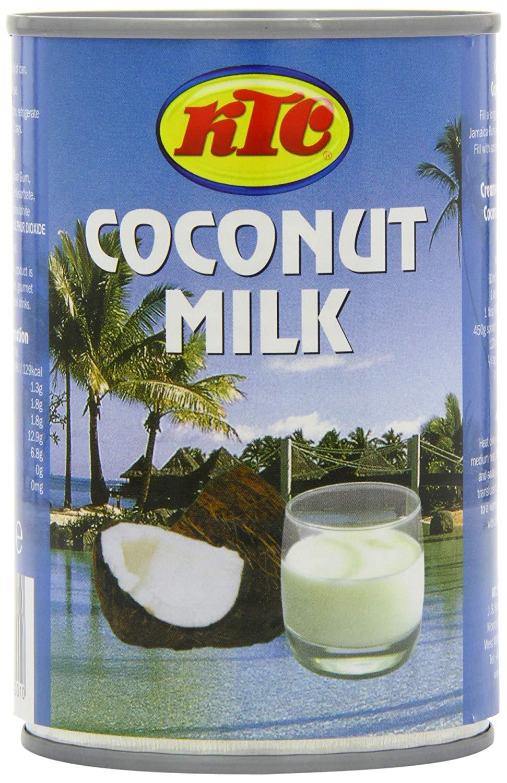 KTC Coconut Milk 400 ml (Pack of 12) @ Amazon £6 Prime £10.49 Non Prime