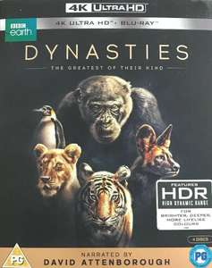 Dynasties (4K Ultra HD + Blu-ray) [UHD] New Sealed £10.60 delivered @ thetradeinn ebay