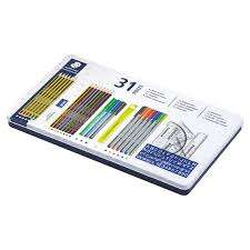 Staedtler 31 piece set stationary tin was £22 Now £6.50 @ Tesco Barrow-in-Furness