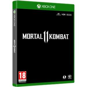 Mortal Kombat 11 for Xbox One [Enhanced for Xbox One X] £27 @ AO