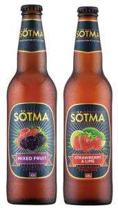 Sotma Strawberry & Lime or Mixed Fruit Cider 500ml 99p at Lidl From 25th to 26th May